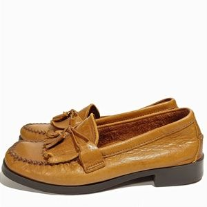Dexter USA Womens Mocc Toe Loafers Sz 7M